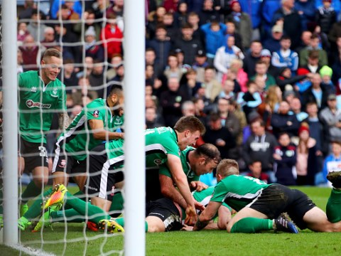 Lincoln City stun Burnley to become first non-league club in quarter-finals for over 100 years