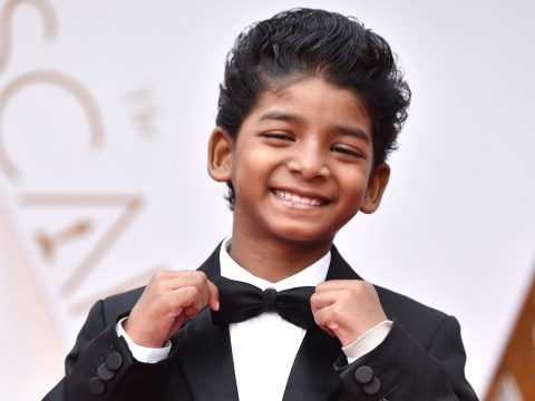 Lion's Sunny Pawar wins the award for cutest guest at the Oscars 2017