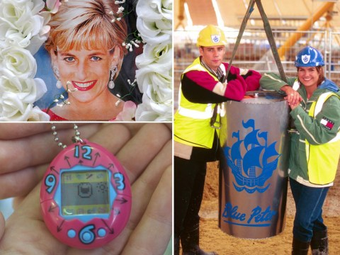 Blue Peter's Millennium time capsule dug up by accident and smashed to pieces by builders