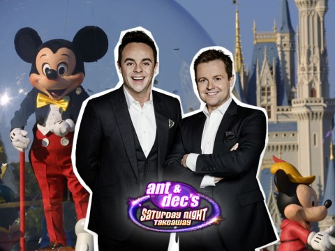 Ant and Dec's Saturday Night Takeaway is going to Walt Disney World for the series finale