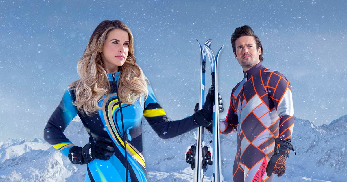Vogue Williams goes coy as Davina McCall throws her under the bus over Spencer Matthews romance rumours