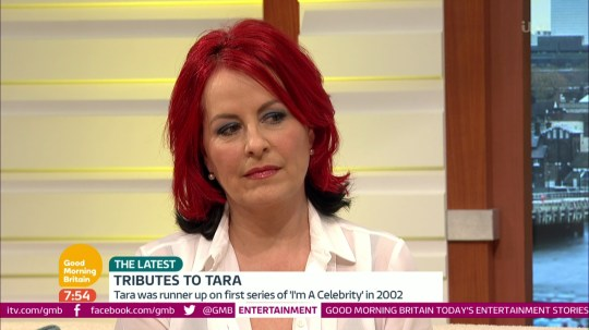 Carrie Grant pays tribute to Tara Palmer-Tomkinson on 'Good Morning Britain'. Broadcast on ITV1HD Featuring: Carrie Grant When: 09 Feb 2017 Credit: Supplied by WENN **WENN does not claim any ownership including but not limited to Copyright, License in attached material. Fees charged by WENN are for WENN's services only, do not, nor are they intended to, convey to the user any ownership of Copyright, License in material. By publishing this material you expressly agree to indemnify, to hold WENN, its directors, shareholders, employees harmless from any loss, claims, damages, demands, expenses (including legal fees), any causes of action, allegation against WENN arising out of, connected in any way with publication of the material.**