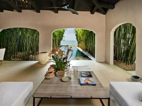 Take a look inside Calvin Klein's swanky Miami mansion