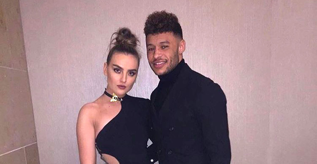 Alex Oxlade-Chamberlain serenaded Perrie Edwards with Ed Sheeran's Perfect making absolute couple goals