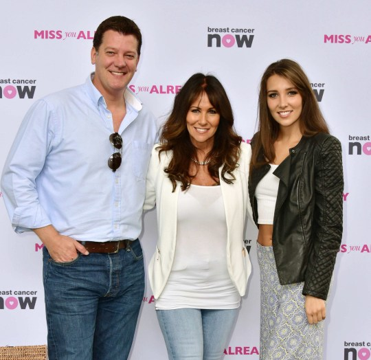 Video AvailablenMandatory Credit: Photo by Nils Jorgensen/REX/Shutterstock (4962997h)nSam Kane, Linda Lusardi and daughter Lucy AnnenMiss You Already Pink Picnic, London, Britain - 16 Aug 2015nCharity picnic in aid of Breast Cancer Now, to tie in with the release of Miss You Already, starring Drew Barrymore and Toni Colletten
