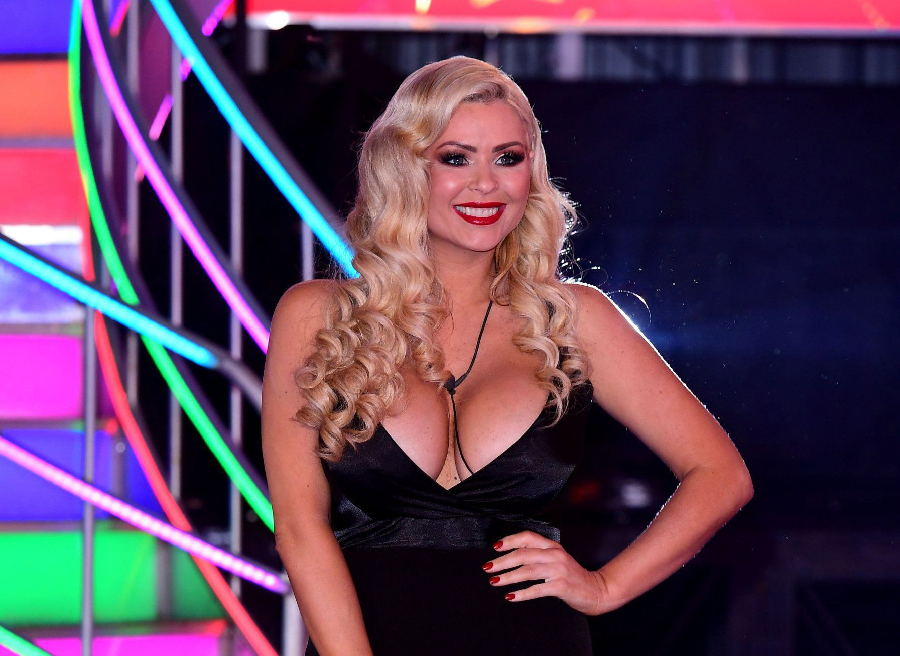Nicola McLean is evicted in fifth place during the Big Brother 2017 final at Elstree Studios in Borehamwood, Hertfordshire. PRESS ASSOCIATION Photo. Picture date: Friday February 3, 2017. See PA story SHOWBIZ CBB. Photo credit should read: Ian West/PA Wire