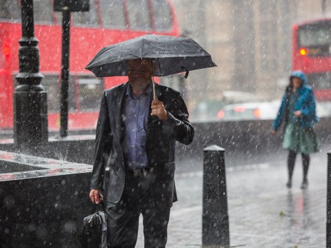 Week's worth of rain set to batter UK in just one day