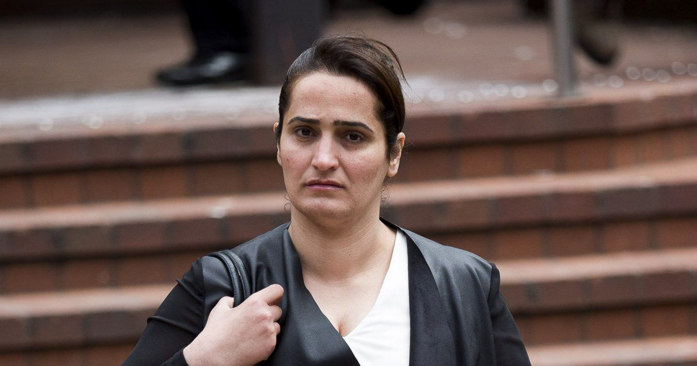 FILE PICTURE - Dalya Saeed 34 is accused of stabbing her ex-husband after they had sex at their home in Moseley. Queen Elizabeth Law Courts, Birmingham, West Midlands. July 04, 2016. See NTI story NTISEX; A dad has told a court how his ex-wife tried to disembowel him minutes after they had a four-hour SEX session. Dalya Saeed, 35, is accused of stabbing Bilal Miah, 31, with a carving knife and trying to pull out his intestines after the pair had romped. A court heard part of Mr Miah's small bowel was cut from his body and thrown onto the bedroom carpet. The taxi driver, who had remarried, told a jury he desperately tried to push his entrails back into his stomach after being attacked by his estranged wife at her home. Saeed denied charges of attempted murder and wounding with intent when she went on trial at Birmingham Crown Court on Monday (6/2).