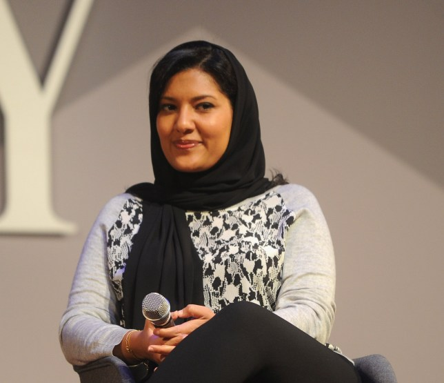 NEW YORK, NY - NOVEMBER 03: HRH Princess Reema Bint Bandar Al-Saud speaks onstage during Fast Company Innovation Festival 2016 - HRH Princess Reema Bint Bandar Al-Saud at Skirball Center, NYU on November 3, 2016 in New York City. (Photo by Brad Barket/Getty Images for Fast Company)