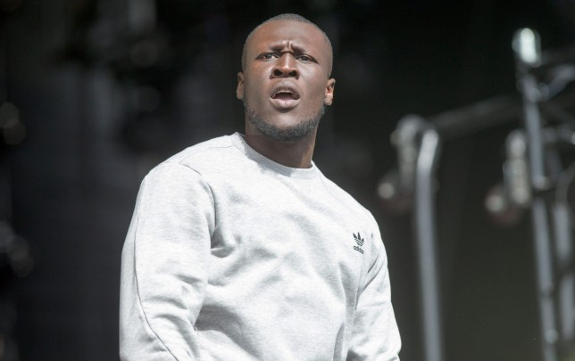 Mandatory Credit: Photo by Geoff Robinson Photography/REX/Shutterstock (5836383bw)nrapper Stormzy (Michael Omari)nV Festival, Hylands Park, Chelmsford, Essex, UK - 20 Aug 2016nn