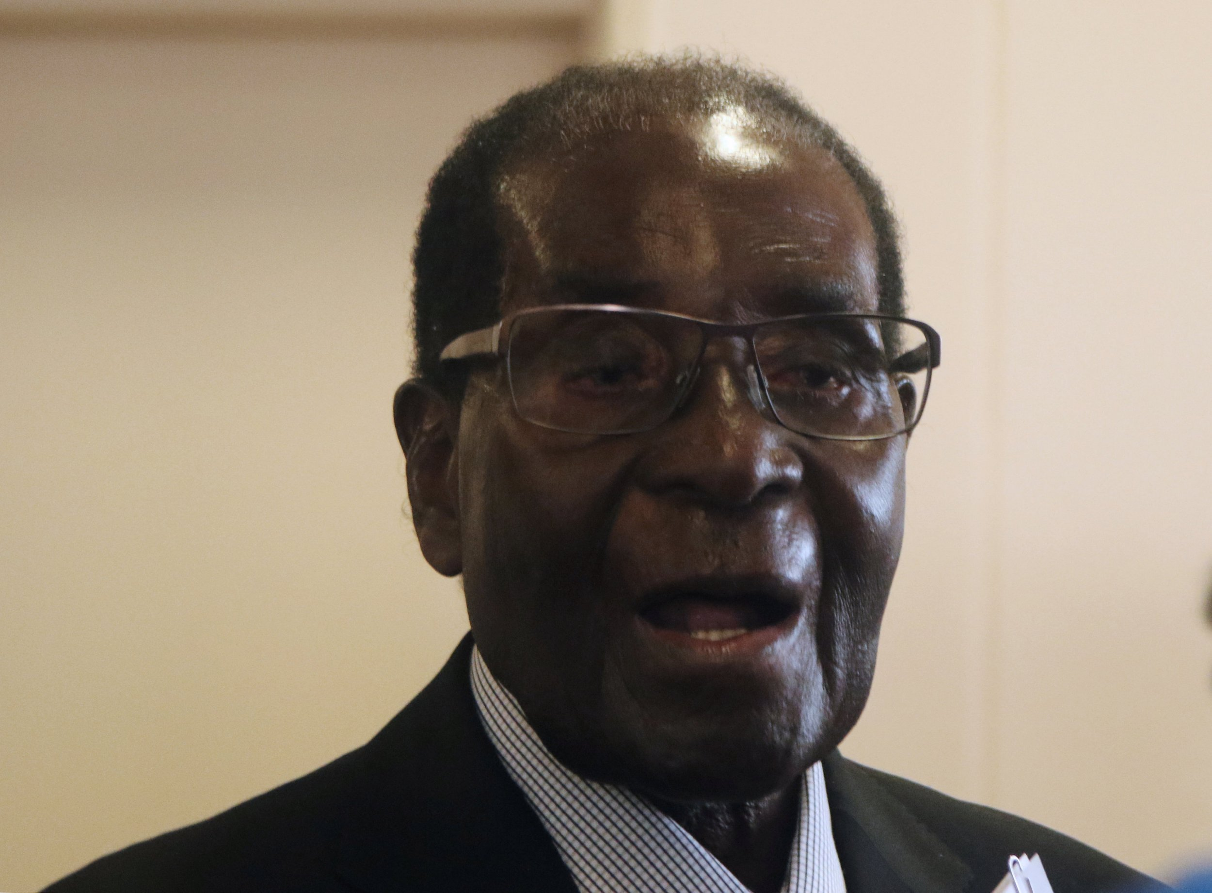 Robert Mugabe removed as WHO goodwill ambassador after just five days