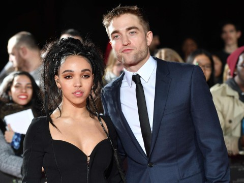 Robert Pattinson and FKA twigs were seriously cute at The Lost City Of Z premiere
