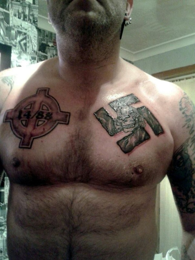 Pic shows Sean Creighton... A racist who said Adolf Hitler was 'God' and called for Muslims to be murdered is facing jail. .. Sean Creighton, 45, an image of the Nazi leader with the message 'kill the Muslims,' Kingston Crown Court heard. .. He used Russian social network VK, which allowed him to 'post what he liked,' after Facebook, which he called 'Jewbook,' blocked him more than 300 times. .. Jonathan Sandiford, prosecuting, said: 'He is a member of the National Front, he was enthralled by Nazism and Adolf Hitler and described him as his god.'.. SEE STORY CENTRAL NEWS