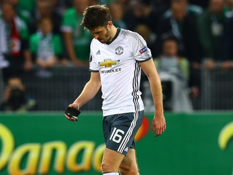Michael Carrick a doubt for EFL Cup final after being forced off with calf injury during St Etienne win