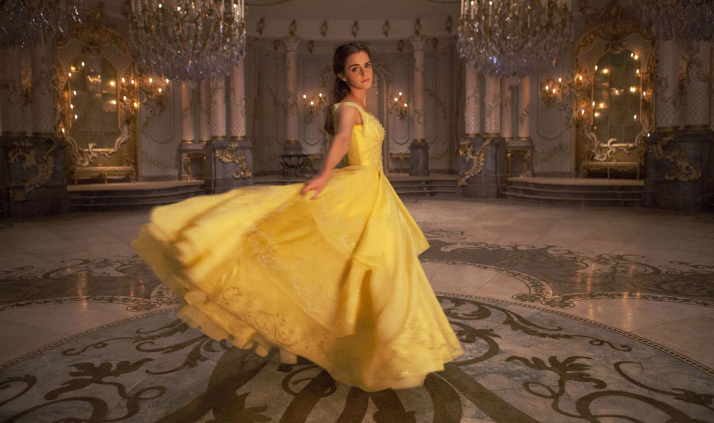 No Merchandising. Editorial Use Only. No Book Cover Usage Mandatory Credit: Photo by Moviestore/REX/Shutterstock (7523690e) Emma Watson Beauty and the Beast - 2017