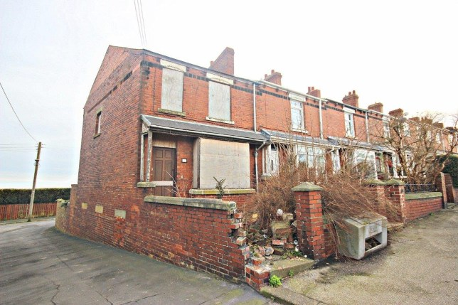 1 house for sale in Sacriston, Durham but there's a catch