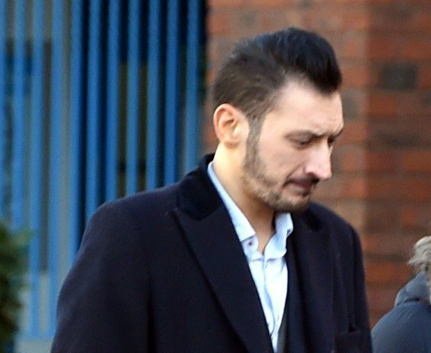 Stefano Culibrk. A perv who slowly drove his Mercedes next to a university student while performing a sex act on himself has been spared jail. See NTI story NTIPERV; Creepy Stefano Culibrk (corr), 29, was following the Keele University student home from the library late at night when the incident took place. A court heard he was driving at between five and 10 mph with the interior light on so the victim could see inside his vehicle. Culibrk, of Newcastle-under-Lyme, Staffs., pleaded guilty to a charge of exposure but was spared jail at Stoke-on-Trent Crown Court on Friday (24/2). The perv was sentenced to 20 weeks in prison, suspended for 12 months, and ordered to pay £750 costs.