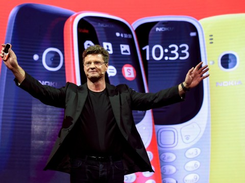 Rebooted Nokia 3310 launched 17 years after its debut