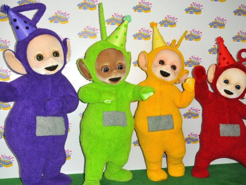 Stars come out to celebrate as the Teletubbies turn 20
