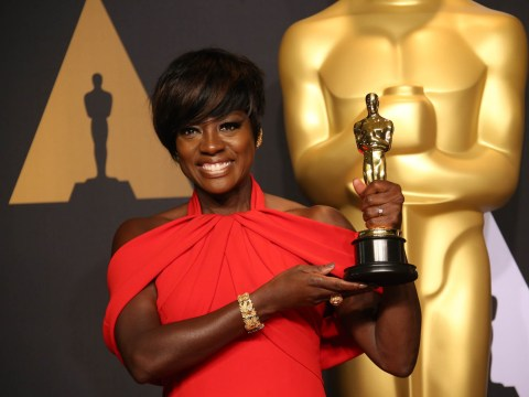 Viola Davis becomes the first black actor to win an Oscar, Emmy and Tony for an acting role