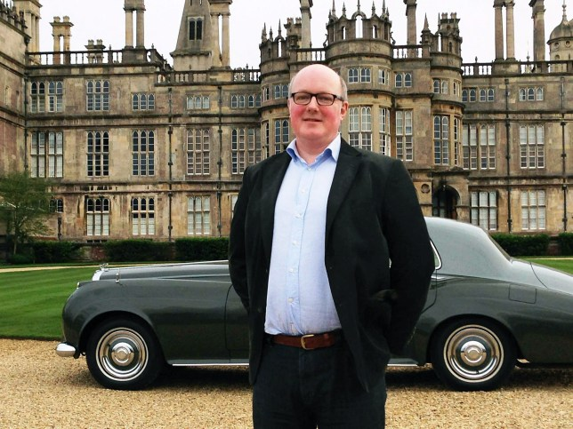 FILE PICTURE - Butler Arthur Mellar pictured outside Burghley House. Arthur was crushed to death in a luggage lift at Burghley House in Stamford, Lincs. See MASONS story MNBUTLER: Burghley House Preservation Trust to be sentenced over death of butler Arthur Mellar who was crushed to death in faulty lift while collecting luggage.