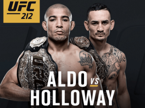Max Holloway to challenge Jose Aldo for featherweight title at UFC 212