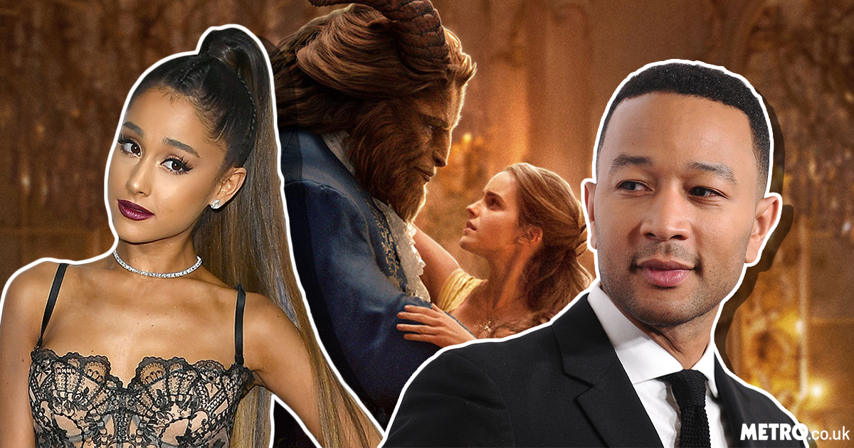 John Legend and Ariana Grande's cover of The Beauty And The Beast soundtrack is everything