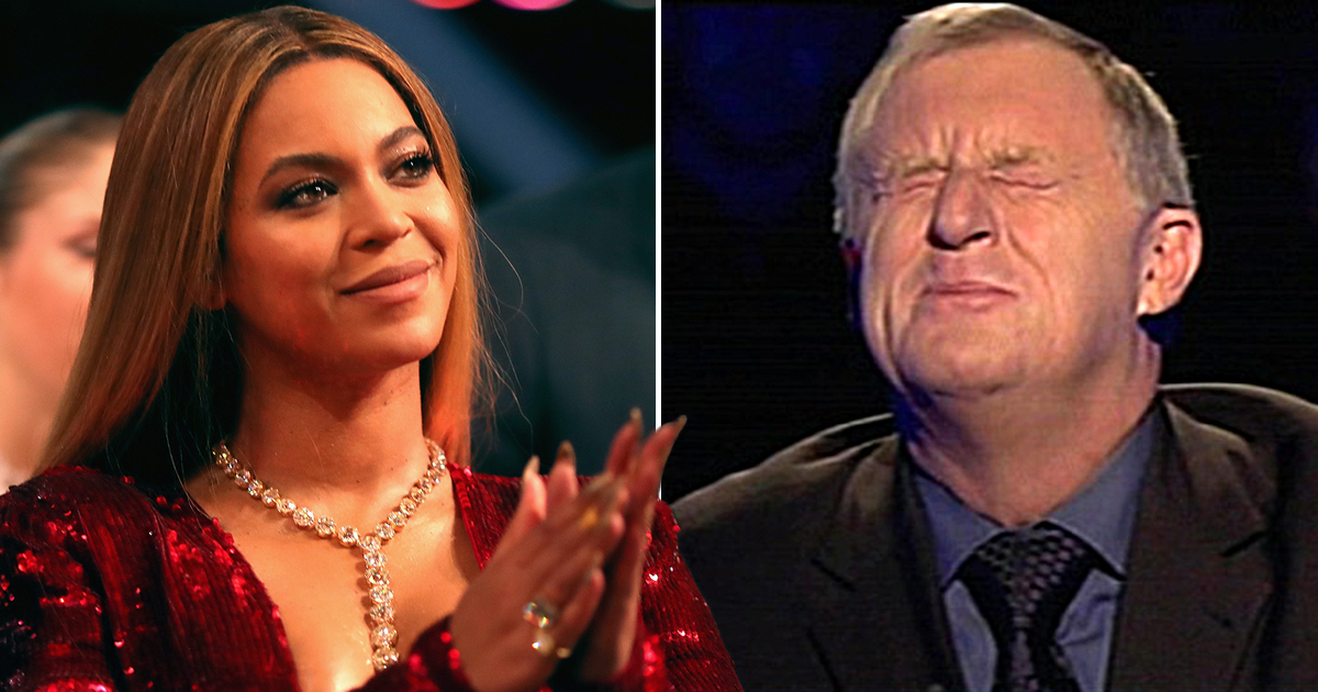 Chris Tarrant has a major celebrity crush on Beyonce: 'I might be punching above my weight'
