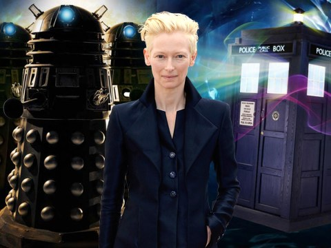 Tilda Swinton is the new favourite to ride the Tardis next in Doctor Who
