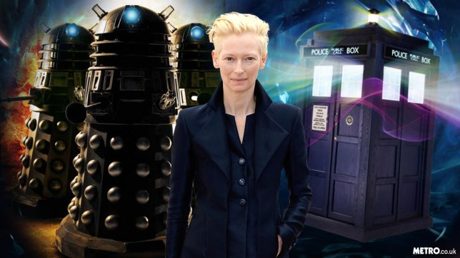 Tilda Swinton is now the crowd favourite as the BBC's next Doctor Who (Picture: Getty; BBC; Metro.co.uk)