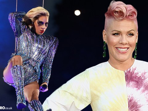 Pink defends Lady Gaga's Super Bowl performance after fans accuse the star of copying her