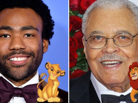 James Earl Jones to reprise role as Mufasa in Lion King remake alongside Donald Glover