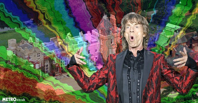 Mick Jagger reportedly once purchased a mansion while on LSD (Picture: Rex/Shutterstock; Reuters)