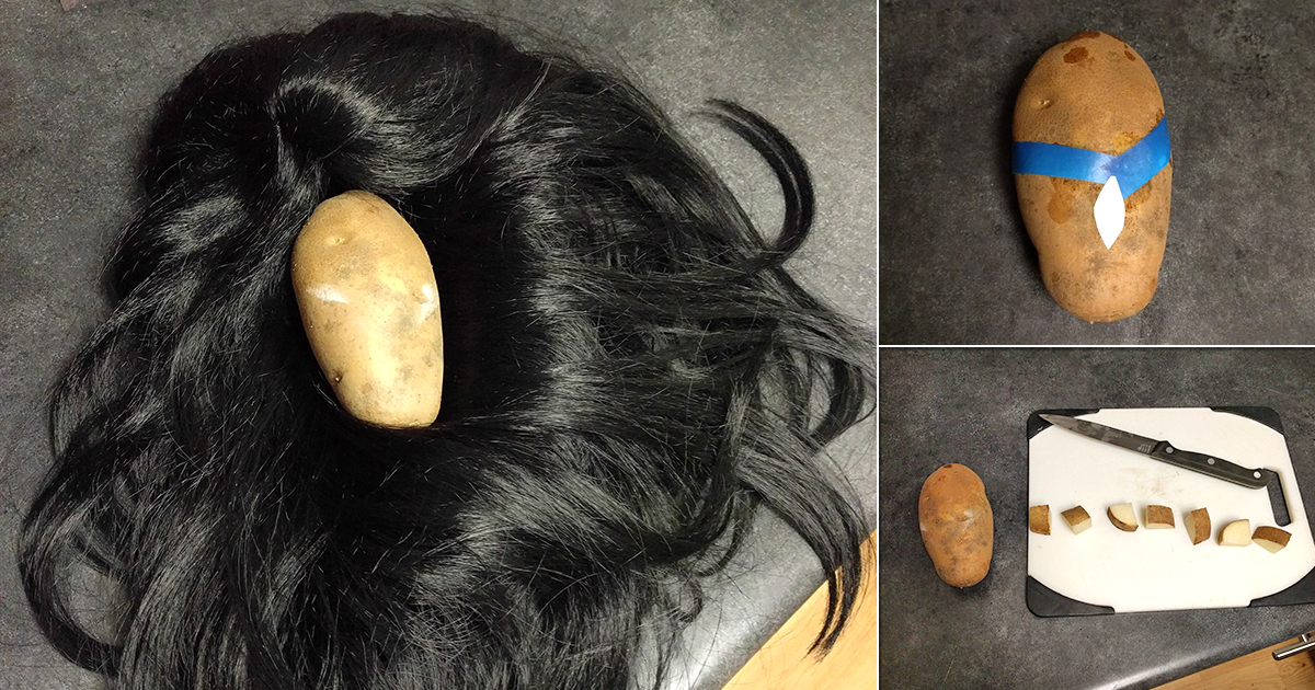 Guy turns all of our favourite Disney Princesses into potatoes