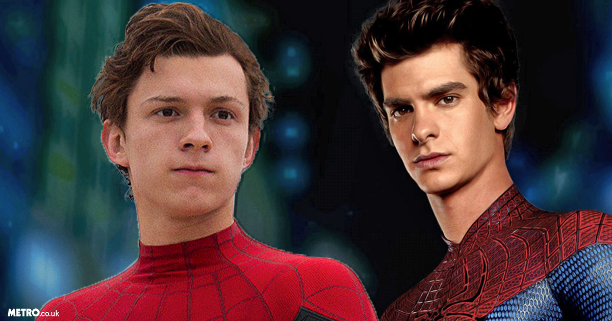 Andrew Garfield has passed on the baton to Tom Holland (Picture: Marvel/Columbia Pictures)