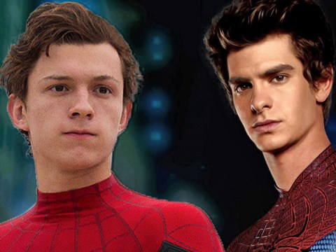 New Spider-Man Tom Holland met old Spider-Man Andrew Garfield for the first time at the Baftas