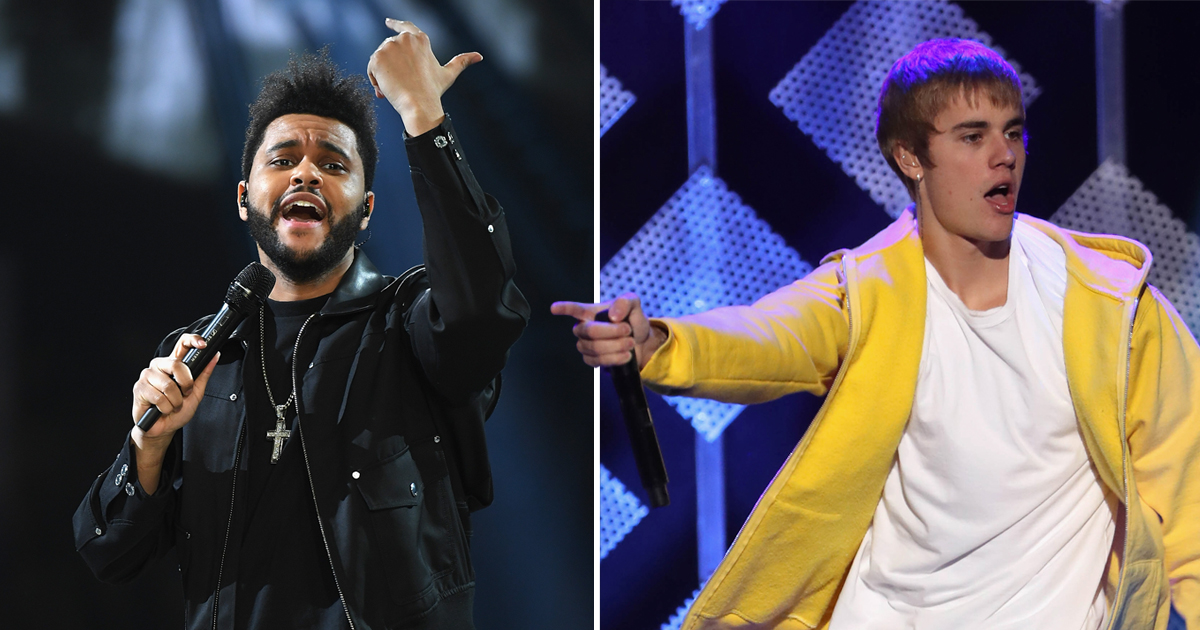 (Picture: Getty) The Weeknd drops Bieber diss track