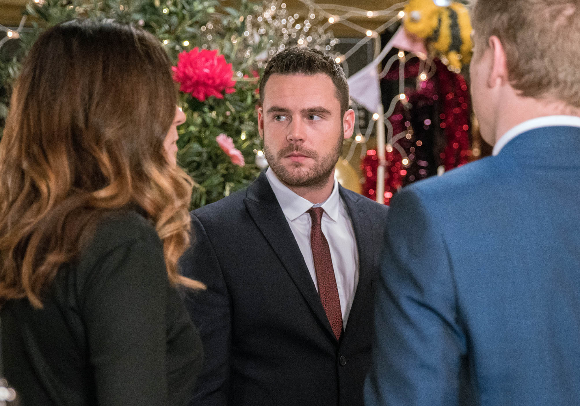 FROM ITV  STRICT EMBARGO -  Print media - No Use Before Tuesday 14th February 2017 Online Media -  No Use Before 0700hrs Tuesday 14th February 2017 emmerdale - Ep 7753 Monday 20th February 2017 The stage is set and Aaron Dingle  in a manner which alters the visual appearance of the person photographed deemed detrimental or inappropriate by ITV plc Picture Desk. This photograph must not be syndicated to any other company, publication or website, or permanently archived, without the express written permission of ITV Plc Picture Desk. Full Terms and conditions are available on the website www.itvpictures.com