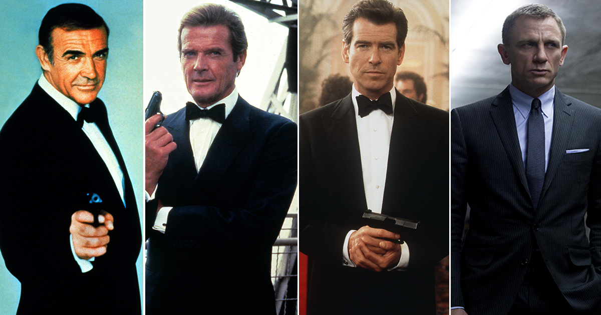 Who is the longest-serving James Bond? Every 007 actor and the movies they've starred in
