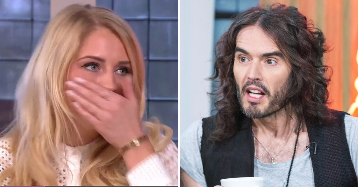 Russell Brand nearly swore on Sunday Brunch but styled it out