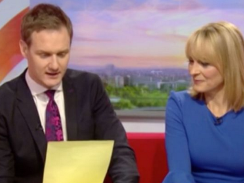 Louise Minchin replaced in the middle of BBC Breakfast