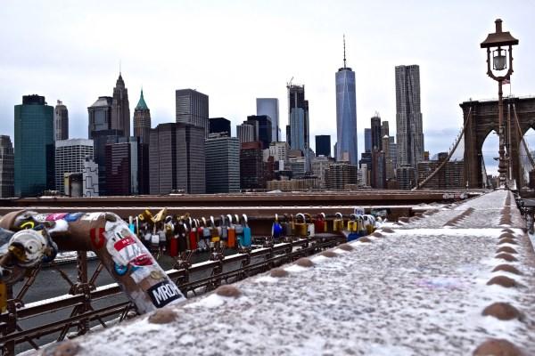 View from Brooklyn Bridge (Picture: Chloe Gunning)
