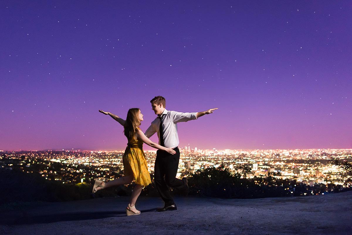 (Picture: M.Hart Photography) La La Land engagement photoshoot