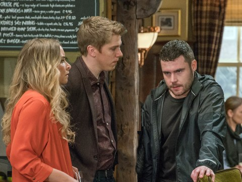 Emmerdale spoilers: Aaron Dingle suffers a panic attack as he faces prison