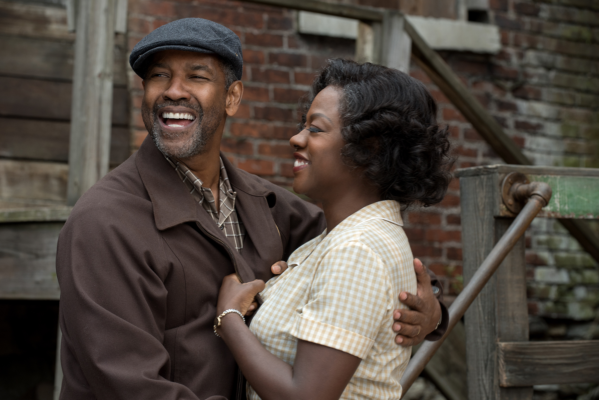 Fences flounders on the big screen but is saved by Viola Davis and Denzel Washington
