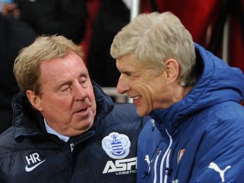 Harry Redknapp urges Arsene Wenger to sign Wayne Rooney for Arsenal