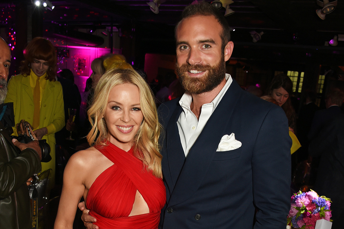 Kylie Minogue speaks out for the first time since her split from fiance Joshua Sasse