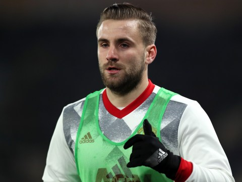 Tottenham to enter race for Luke Shaw if Manchester United make him available