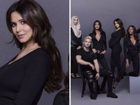 Cheryl shows off baby bump for the first time in L'Oreal campaign
