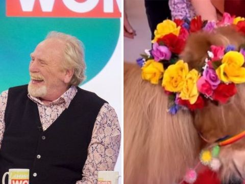 James Cosmo was reunited with Tony the Pony on Loose Women
